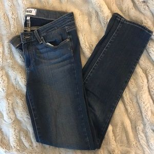 Paige medium wash jeans